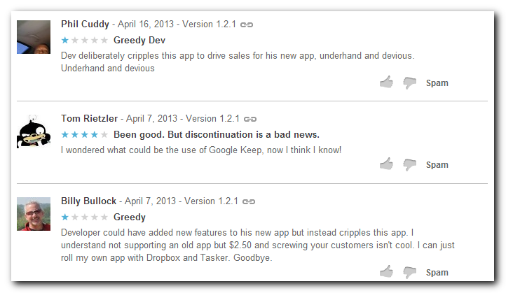 Latest reviews of the Epistle App