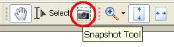 Snapshot tool in Acrobat Reader