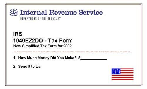 2002 Tax Form