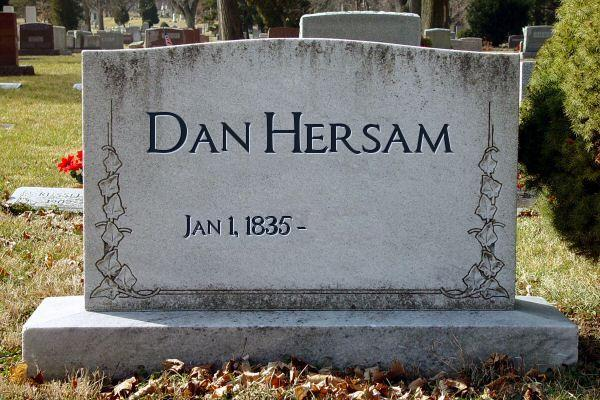 My tombstone