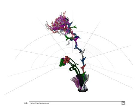 A flower representing my web site